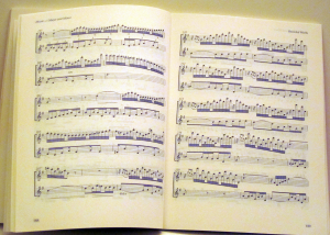 Outline Score: William Tell Overture pp 188-189: Music Major and Minor. Music typesetting by Playright Music Ltd.