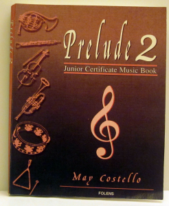 Work Sample: Book 'Prelude 2' designed and typeset by Playright Music Ltd., Dublin, Ireland