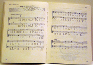 Two-part Song: Under the Old Linden Tree p 162, Music Major and Minor. Typesetting by Playright Music Ltd.