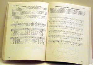 Religious and Ancient Music Psalm 22 and Plainsong: Salve Regina pp 106-107 Music Major and Minor. Music Typesetting by Playright Music Ltd.