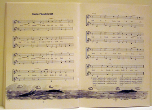 Work Sample:  Top quality page design featuring music notation by Playright Music Ltd., Ireland and UK