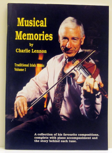 Music Typesetting by Playright Music Ltd. | Book cover of Musical Memories by Charlie Lennon