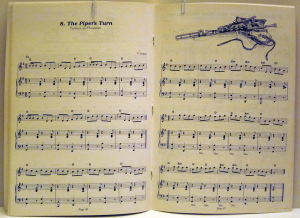 Sample of music typesetting by Daniel Walsh, Playright Music Ltd.